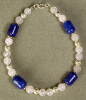 Rose Quartz and Sodalite Bracelet